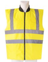 KORNTEX-Warn-Schutz-Bodywarmer, Wendeweste, gelb