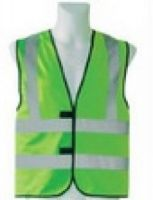 KORNTEX-Warn-Schutz-Weste mit vier Reflexstreifen, grün