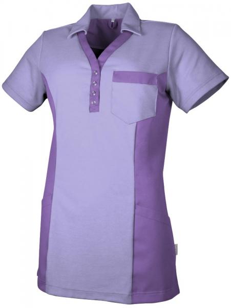 Teamdress-Service, Damen Polokasack, mit Brusttasche, lavendel/lila