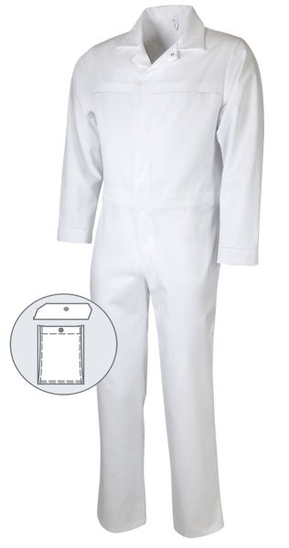 Teamdress-Food, HACCP, Overall, 1 Beintasche, weiss