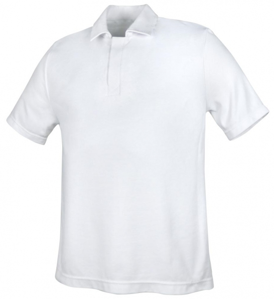 Teamdress-Food, HACCP, Unisex-Poloshirt, 1/4 Arm, weiss