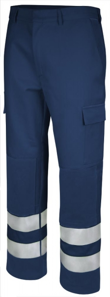Teamdress-PSA, High Multinorm, Bundhose, EN 13034, marine