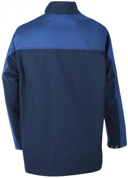Teamdress-PSA, Gießerei/Schweißer-Jacke, EN ISO 11612, marine/kornblau