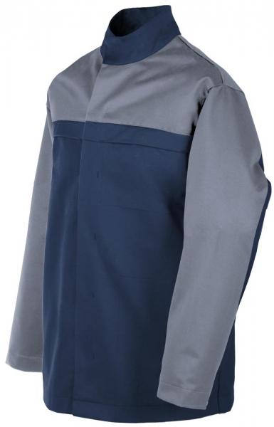 Teamdress-PSA, Gießerei/Schweißer-Jacke, EN ISO 11612, marine/grau
