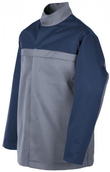 Teamdress-PSA, Gießerei/Schweißer-Jacke, EN ISO 11612, grau/marine