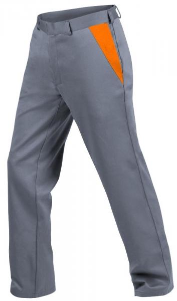 Teamdress-PSA, Gießerei/Schweißer-Bundhose, EN ISO 11612, grau/orange