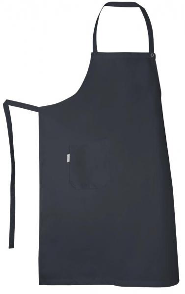 Teamdress-Service, Latzschürze, mit Tasche, schwarz