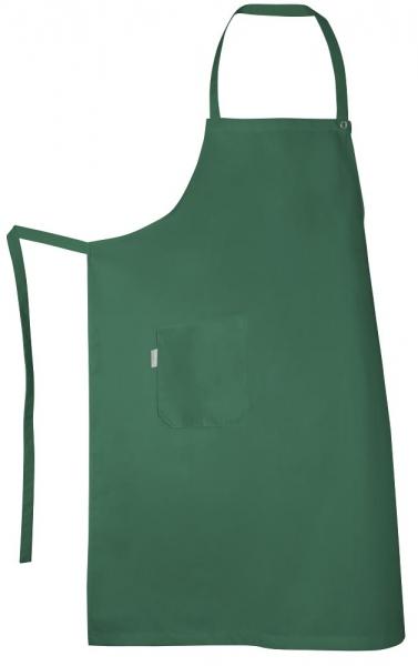 Teamdress-Service, Latzschürze, mit Tasche, grün