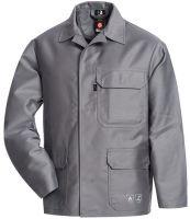 HB-Flammen-/Schweißer-Arbeits-Schutz-Berufs-Jacke, 420 g/m², mittelgrau