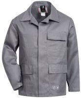 HB-Flammen-/Schweißer-Arbeits-Schutz-Berufs-Jacke, 320 g/m², mittelgrau