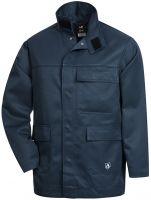 HB-Flammen-/Schweißer-Arbeits-Schutz-Berufs-Jacke, Blouson, 390 g/m², dunkelblau