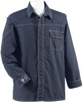 HB-Flammen-/Schweißer-Schutz-Arbeits-Hemd, 175 g/m², dunkelblau