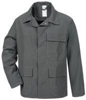 HB-Chemikalien-Schutzjacke, Arbeits-Berufs-Jacke, 270 g/m², eisengrau