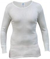 HB-Chemikalien-Schutz-Unterhemd, langarm, 170 g/m², rohweiß