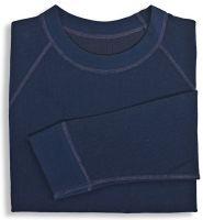 HB-Kälteschutz-Unterhemd, 2-lagig, langarm, 264 g/m², navy