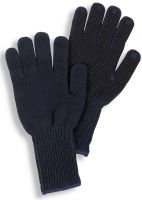 HB-Kälteschutz-Strick-Arbeits-Handschuhe, navy
