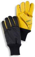 HB-Kälteschutz-Kommisionierer-Arbeits-Handschuhe, navy/gelb