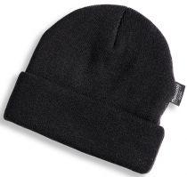 HB-Kälteschutz, Thermo-Arbeits-Berufs-Strickmütze, schwarz