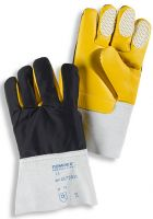 HB-Kälteschutz-Kommisionierer-Arbeits-Handschuhe, weiß/braun