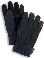 HB-Kälteschutz-Fleece-Handschuhe, schwarz
