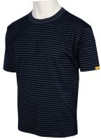HB-ESD-Produktschutz-Herren-T-Shirt, kurzarm, 160 g/m², schwarz