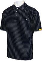 HB-ESD-Produktschutz-Herren-Poloshirt, kurzarm, 160 g/m², schwarz