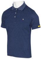 HB-ESD-Produktschutz-Damen-Poloshirt, kurzarm, 160 g/m², navy