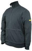 HB-ESD-Produktschutz-Sweatjacke, Arbeits-Berufs-Jacke, 300 g/m², schwarz