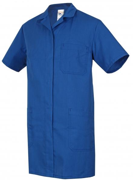 HB-ESD-Produktschutz-Damen-Berufs-Mantel, Arbeits-Kittel, kurzarm, 160 g/m², royal