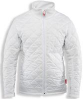 HB-Kälteschutz, Thermo-Arbeits-Berufs-Herren-Jacke, Hygiene, 210 g/m², weiß