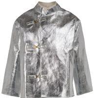 HB-Flammen-/Schweißer-Arbeits-Schutz-Berufs-Jacke, Hitzeschutz-Jacke, 460 g/m², silber