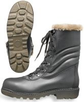 HB-Kälteschutz-S2-Winter-Sicherheits-Arbeits-Berufs-Schuhe, Schnürstiefel, schwarz