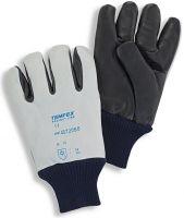 HB-Kälteschutz-Kommisionierer-Handschuhe, schwarz/mittelgrau