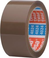 NORDWEST-PROMAT-Klebe-Dicht-Füll-Stoffe, TESA-Verpackungsklebeband PP pack® 4024 chamois L.66m B.50mm Rl.