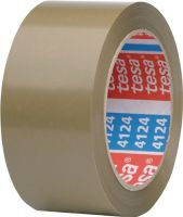 NORDWEST-PROMAT-Klebe-Dicht-Füll-Stoffe, TESA-Verpackungsklebeband PVC pack® 4124 chamois L.66m B.50mm Rl.