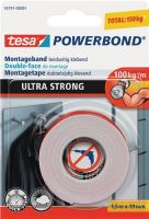NORDWEST-PROMAT-Klebe-Dicht-Füll-Stoffe, TESA-Montageband Powerbond® 55791 L.1,5m B.19mm transp.Rl.