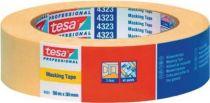 NORDWEST-PROMAT-Klebe-Dicht-Füll-Stoffe, TESA-Kreppband 4323 leicht gekreppt hellbeige L.50m B.50mm Rl.