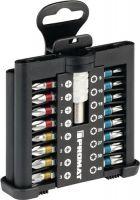 NORDWEST-PROMAT-Bits und Zubehör, Bit-Sortiment, 31-tlg.mit Farbleitsystem und Magnethalter mit Schnellwech