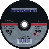 NORDWEST-PROMAT-Trenn-Flex-Schrupp-Scheiben, Trennscheibe D125x2,5mm, gekr.STA Bohr.22,23mm