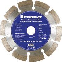 NORDWEST-PROMAT-Trenn-Flex-Schrupp-Scheiben, Diamant-Trennscheibe D.230mm Bohrung 22,23mm segmentiert 10mm