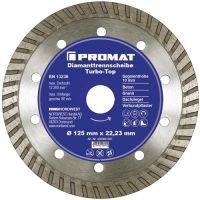 NORDWEST-PROMAT-Trenn-Flex-Schrupp-Scheiben, Diamant-Trennscheibe D.115mm Bohr.22,23mm Stahlkern 10mm