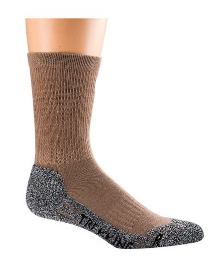 WOWERAT-COOLMAX-Trekking-Arbeits-Berufs-Socken, Funktions-Sportsocken, camel