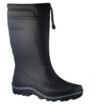 SPIRALE-Nora-PVC-Gummi-Stiefel, Stratos-Basic, schwarz,