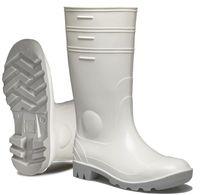 SPIRALE-Nora-PVC-Sicherheits-Gummi-Stiefel, Safron, weiß, S4