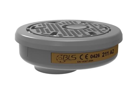 F--PSA-Atem-Schutz, Gasfilter für Bajonett-Anschluss,  *A2*