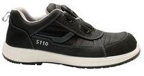 SANITA-Arbeits-Berufs-Schuhe, Halbschuhe, Marathon, SRC, schwarz