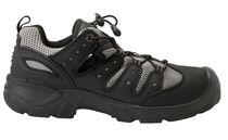 SANITA-Sicherheits-Arbeits-Berufs-Schuhe, Halbschuhe, Mississipe, S1P, schwarz/grau