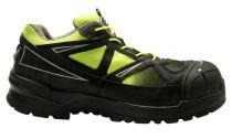 SANITA-Sicherheits-Arbeits-Berufs-Schuhe, Halbschuhe, Andersite, S3, schwarz/gelb