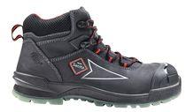 SANITA-Arbeits-Berufs-Sicherheits-Schuhe, Schnürstiefel, Meteorite, S3, ESD, schwarz