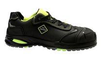 SANITA-Sicherheits-Arbeits-Berufs-Schuhe, Halbschuhe, Yellowsstone, S3, ESD, schwarz/gelb